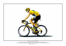 Chris Froome - Tour de France 2015 winner ART POSTER A2 size