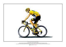 CHRIS FROOME-TOUR DE FRANCE 2015 vincitore Arte Poster A2 SIZE