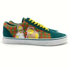 Vans Men's The Simpsons X Vans Old Skool Moe's Skate Shoes Size 9 In Hand 2020