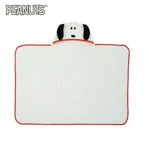 RARE PEANUTS SNOOPY Blanket with Hoodie Limited to JAPAN 40in 100cm #DHL