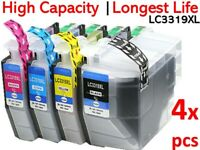 4 x NoN-OEM LC-3319XL HY Ink Set for Brother MFC-J5330DW/5730DW/6530DW/6930DW AU