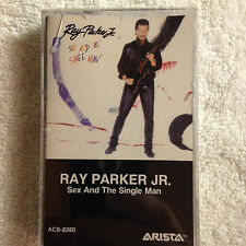 New/Sealed - Ray Parker Jr.- Sex and the Single Man - Cas. Tape -1985 Arista  #2