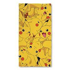 Pokémon Boom Pikachu Serviette coton Jaune 140 x 70 x 2 cm