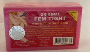 ORIGINAL FEM TIGHT Antiseptic Vaginal V-wash Soap 90g