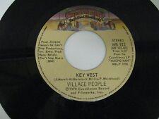 "Village People macho man / key west - 45 Record Vinyl Album 7"""