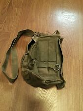 VINTAGE M17 A1 US ARMY GAS MASK CHEMICAL-BIOLOGICAL CANVAS BAG