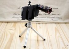 8 X Zoom Optical Telescope Camera Lens with Tripod Stand Holder for iPhone 4G 4S