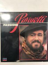 New PAVAROTTI - PASSIONE Record Decca London Records Sealed 1985 417 117-1 L H