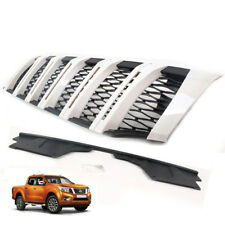 2015-2018 For Nissan Frontier Navara NP300 Front Grille Grill Cover White
