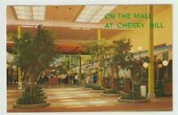 1968 Postmarked Postcard On the Mall at Cherry Hill New Jersey NJ