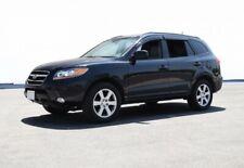WellVisors For 07-12 Hyundai Santa Fe W/ Black Trim  SLEEK HD Side Window Visors