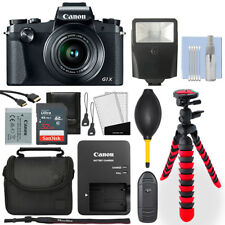 Canon PowerShot G1 X Mark III Digital Camera + 32GB Deluxe Accessory Package