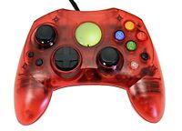 Replacement Controller For Xbox Original Red Transparent Xbox Original
