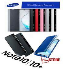 Original Samsung CLEAR VIEW Cover Galaxy Note 10 / 10+ Plus Flip Smart Case