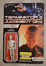 "Funko ReAction Terminator 2 T1000 Final Battle Metal 3.75"" Action Figure New"