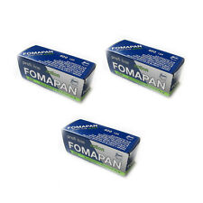 3 Rolls x FOMAPAN 400 Medium Format 120 Profi Line Action B&W Film by FOMA