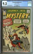 JOURNEY INTO MYSTERY #95 CGC 9.2 OW/WH PAGES // DON + MAGGIE THOMPSON COLLECTION