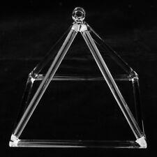 7 Inch Quartz Crystal Singing Pyramid C Note Percussion Musical Instrument