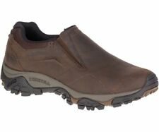 Original Merrell Moab Adventure Moc Men's Shoes - Dark Earth J91837