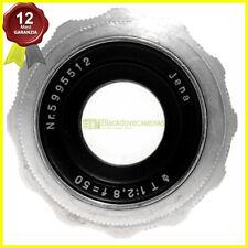 Carl Zeiss Jena Tessar 50mm f2,8 manual focus per Canon EOS analogiche/digitali