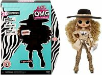 LOL Surprise Series 3 OMG Da Boss Fashion Doll L.O.L. Doll with 20 Surprises