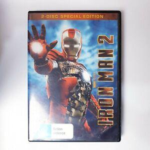 Iron Man 2 DVD Movie Free Post Region 4 AUS - Superhero Ironman