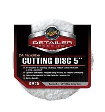 """Meguiars 5"""" DA Microfibre Cutting Pad Pack of 2"""