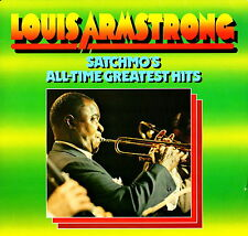 LOUIS ARMSTRONG - Satchmo's All-Time Greatest Hits 1980 Vinile=NM 2 LP GATEFOLD