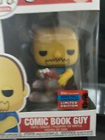FUNKO POP! FALL 2020 NYCC EXCLUSIVE COMIC BOOK GUY #832 The Simpsons