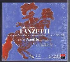 LANZETTI CD NEW NASILLO CELLO & BASSO SONATA