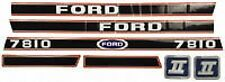 New Ford 7810 Decal Set