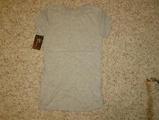 NWT Junior's EPIPHANY Gray Tee T-ShirtT Size L Large