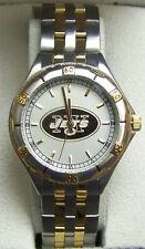 New York Jets Gold Logo Watch Mens Game Time General Managers Wristwatch