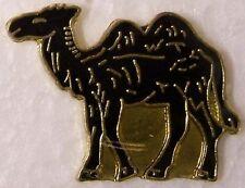 Hat Lapel Pin Scarf Clasp Animal Black Camel NEW