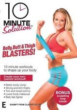 10 Minute Solution - Belly, Butt & Thigh Blasters! (DVD, 2010)