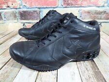 DWYANE WADE CONVERSE RARE BASKETBALL SHOES Men's 12 Black Leather