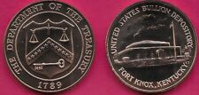 Usa Medal Bu Fort Knox Bullion Depository Of The United States In Kentucky 1 5/1