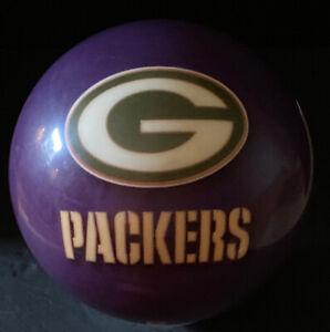 VIZ-A-BALL Green Bay Packers Miller Lite Brunswick Bowling Ball 14lbs