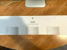 Google Wifi AC1200 Home Wi-Fi Mesh Router System - 3-Pack - Excellent Condition!