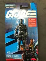 GI Joe limited edition Mini Figure - Snake Eyes