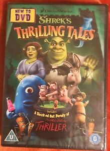 Shrek's Thrilling Tales DVD (New and Sealed)