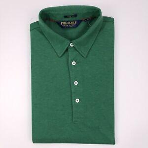 Polo Golf Ralph Lauren M Polo Shirt Green Mesh Interlock Pima Cotton New Nwt Man