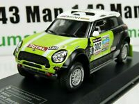RD27B 1/43 IXO Direkt Rallye MINI All4 Racing DAKAR 2013 S PETERHANSEL winner 1