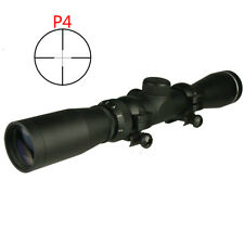 US SELLER 2-7x32 Long Eye Relief Scout Scope P4 Lens Cap and Ring