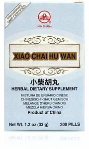 Min Shan, Minor Bupleurum Teapills, Xiao Chai Hu Tang Wan, 200 ct