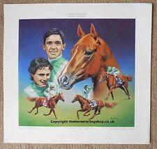 Lammtarra  Roy Miller Fine Art LE Horse Racing Picture Walter Swinburn Dettori
