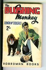 THE BLUSHING MONKEY McDougald, rare British Boardman #174 crime pulp vintage pb