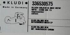 Kludi Objekta Mix New Wannenfüll- und Brause-Einhandmischer DN15 chrom 336530575