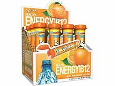 Zipfizz Healthy Energy Drink Mix B12 Multi-Vitamins Hydration Orange Soda 12ct
