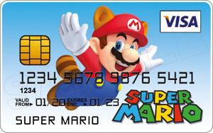 Super Mario Novelty Plastic Credit Card